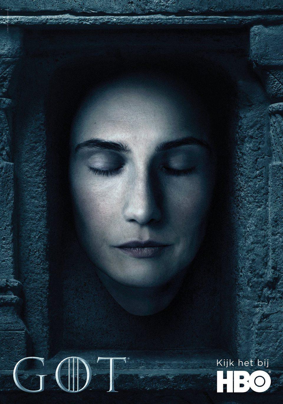 Cartel Temporada 6 teaser de 'Juego de Tronos'