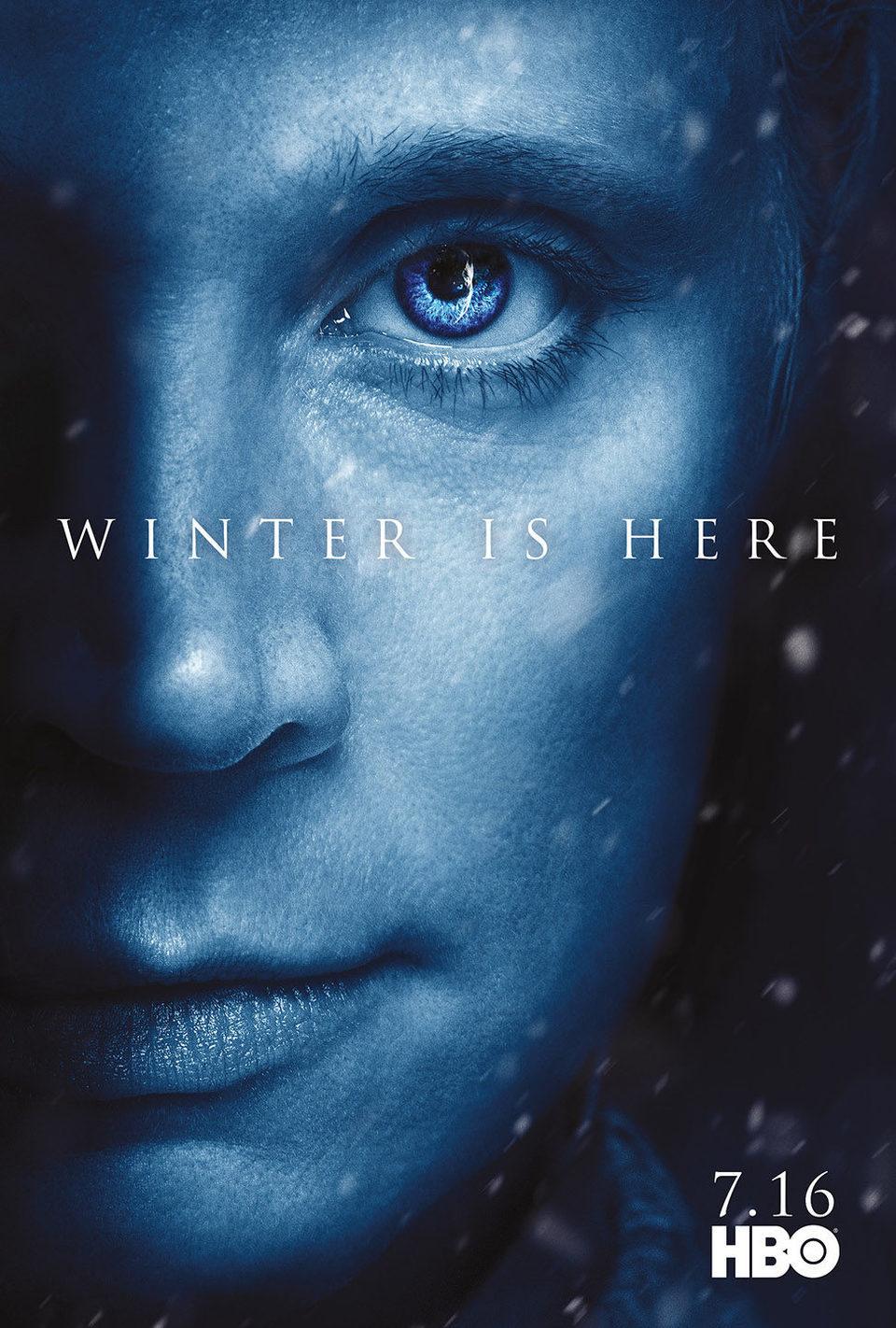 Cartel Temporada 7 Brienne de 'Juego de Tronos'