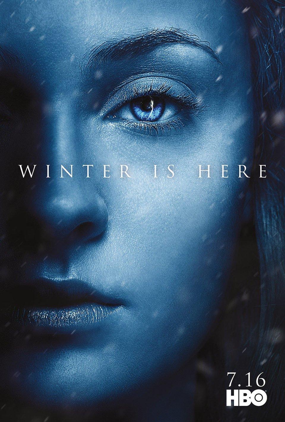 Cartel Temporada 7 Sansa de 'Juego de Tronos'