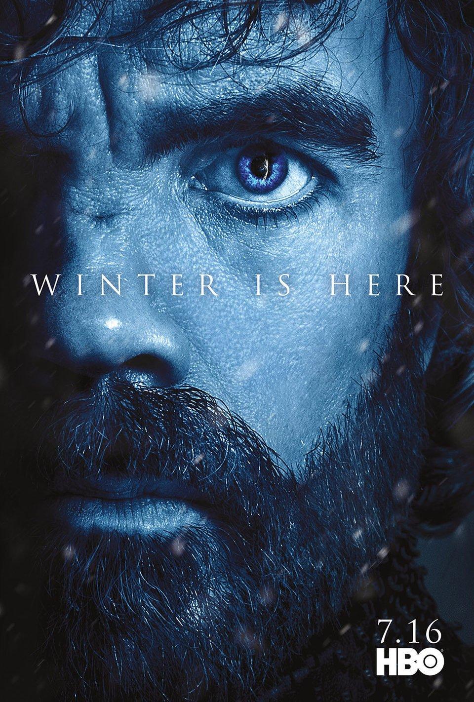Cartel Temporada 7 Tyrion de 'Juego de Tronos'