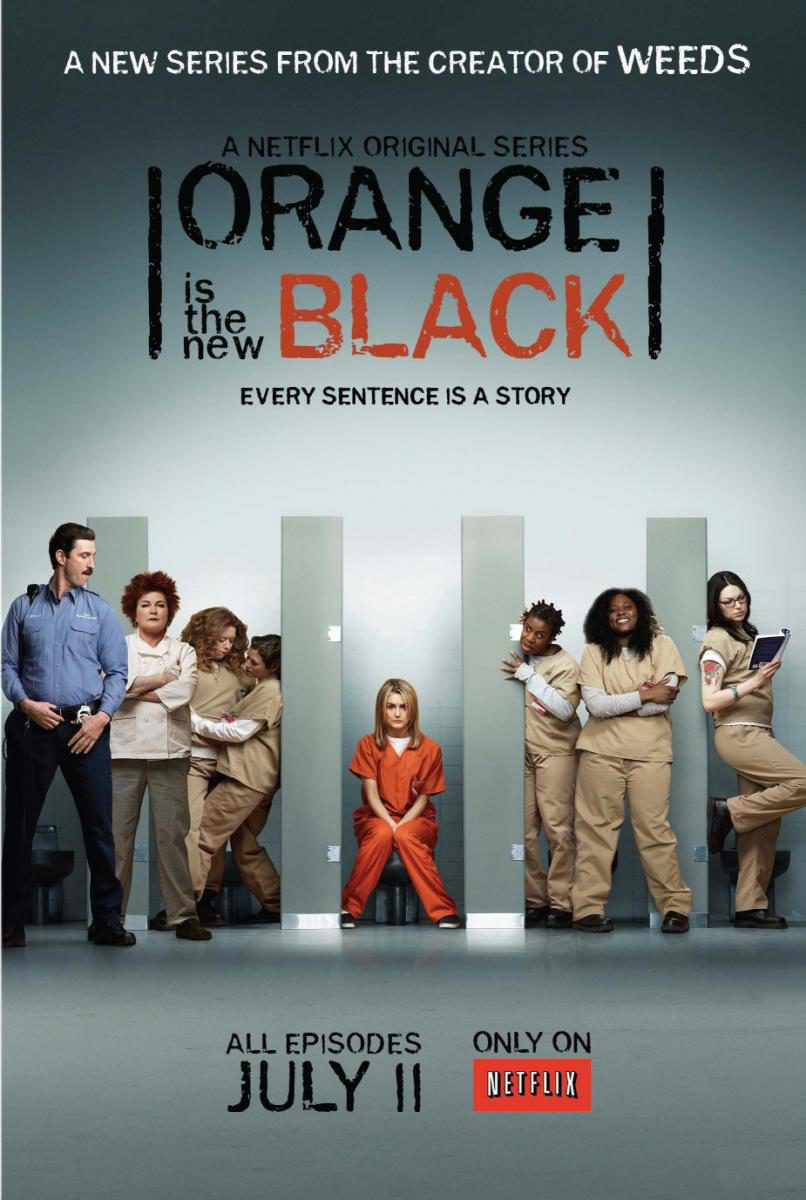 Cartel Temporada 1 de 'Orange Is the New Black'