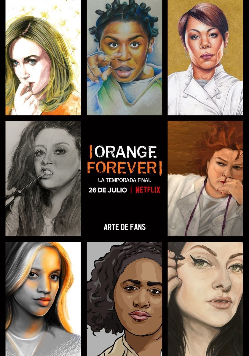 Cartel Temporada 7 final de 'Orange Is the New Black'