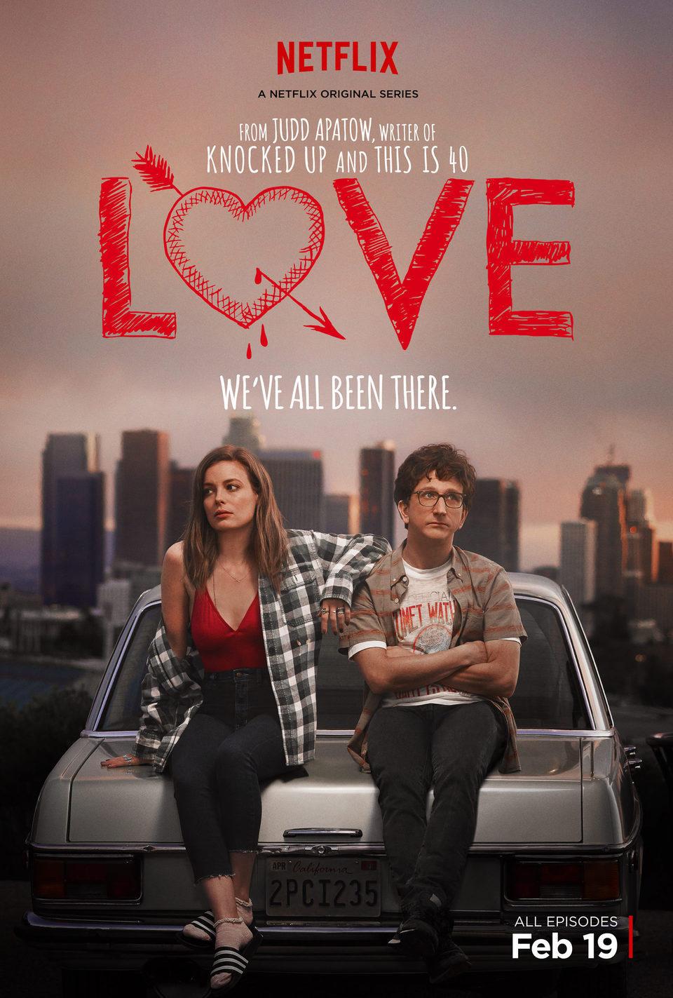Cartel Temporada 1 de 'Love'