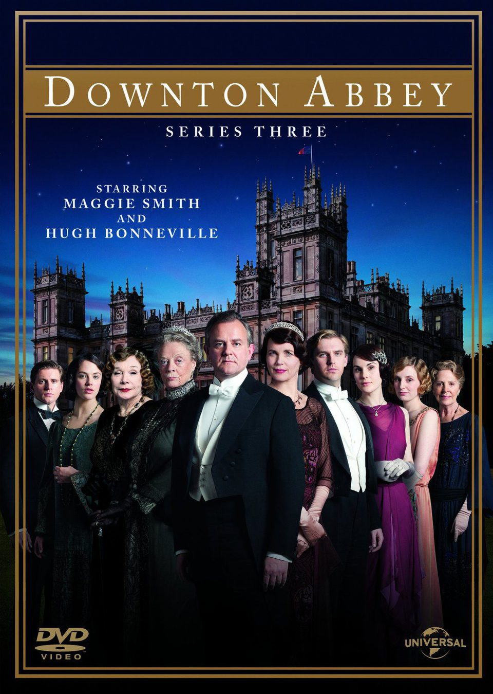 Cartel Temporada 3 de 'Downton Abbey'