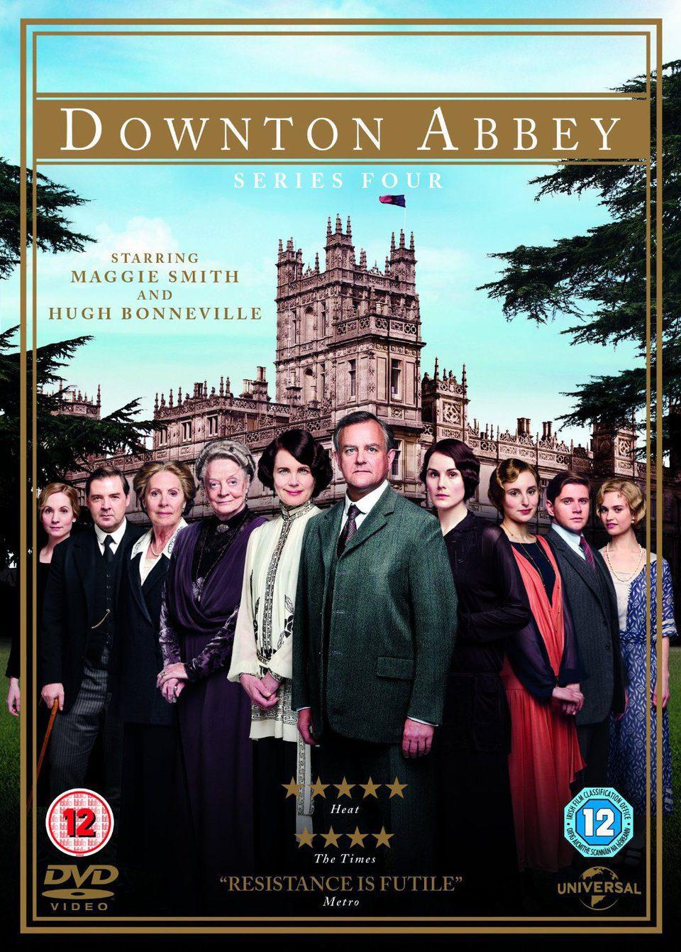 Cartel Temporada 4 de 'Downton Abbey'