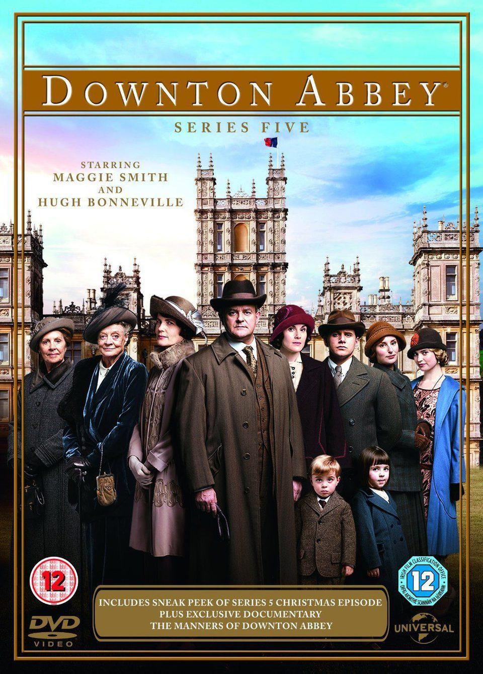 Cartel Temporada 5 de 'Downton Abbey'