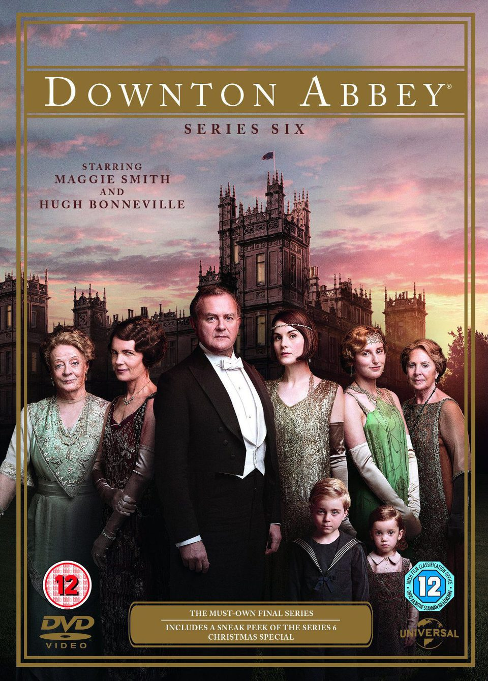 Cartel Temporada 6 de 'Downton Abbey'