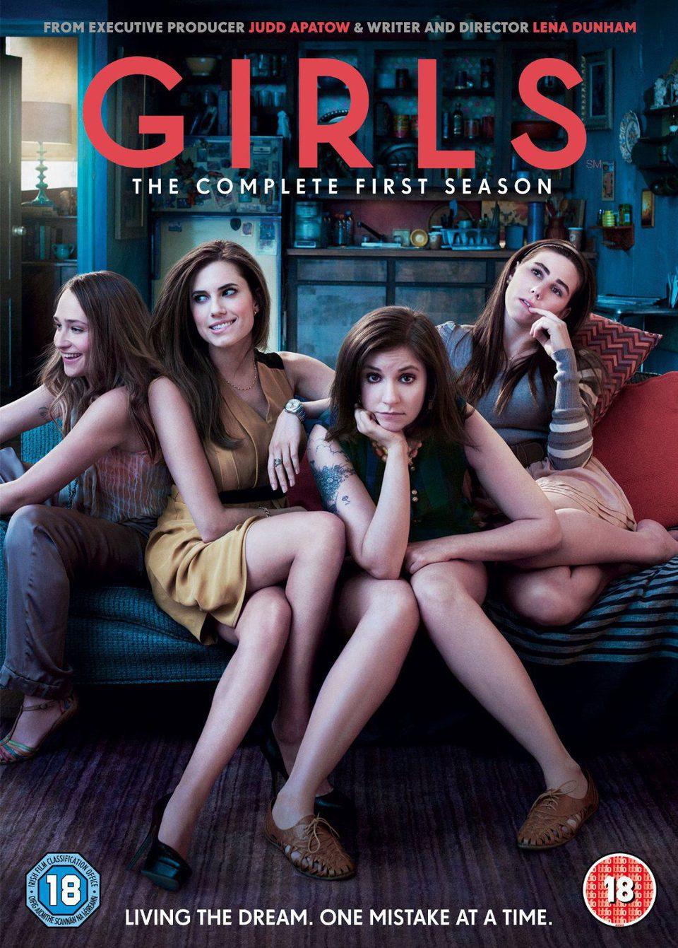 Cartel Temporada 1 de 'Girls'