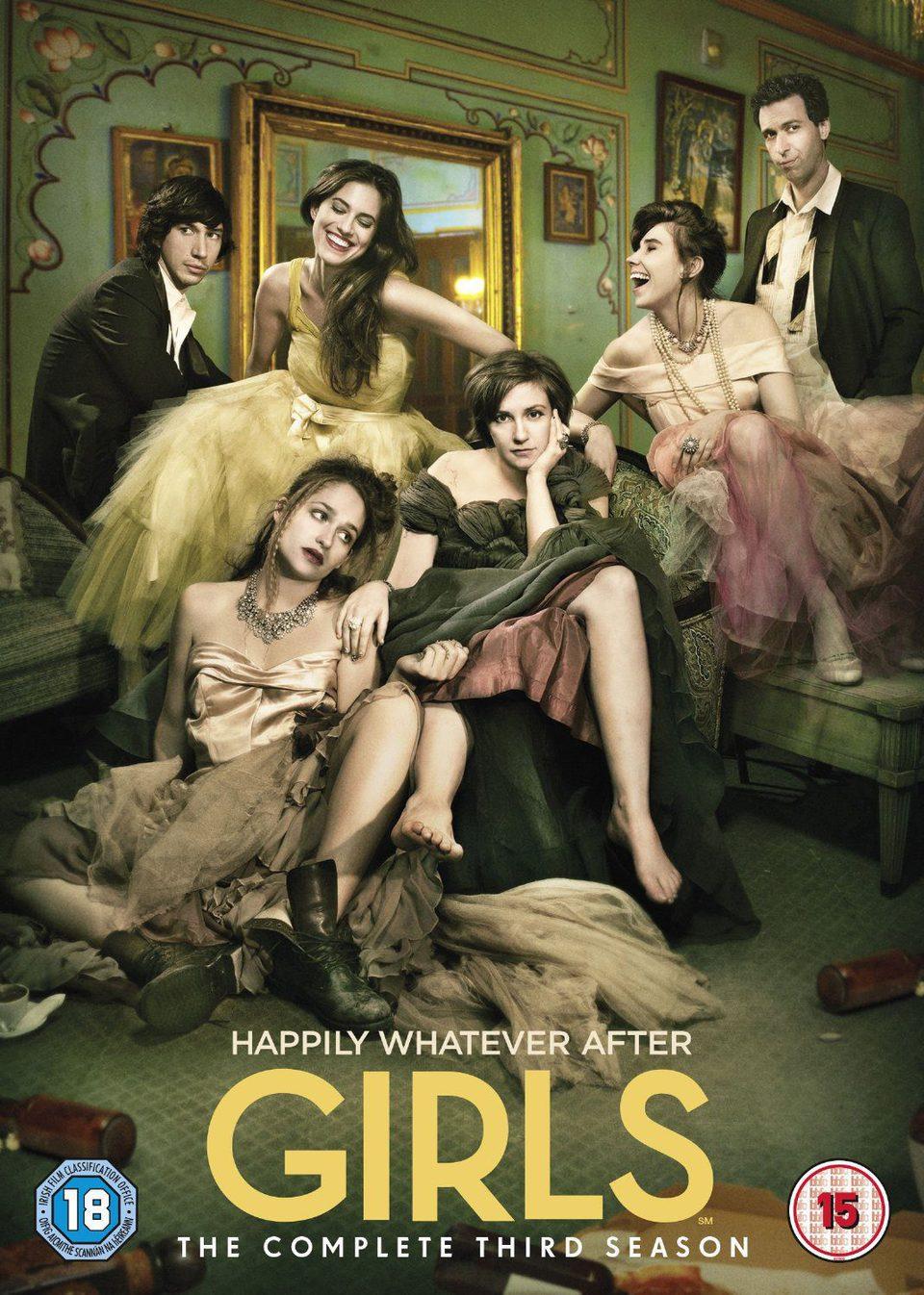 Cartel Temporada 3 de 'Girls'