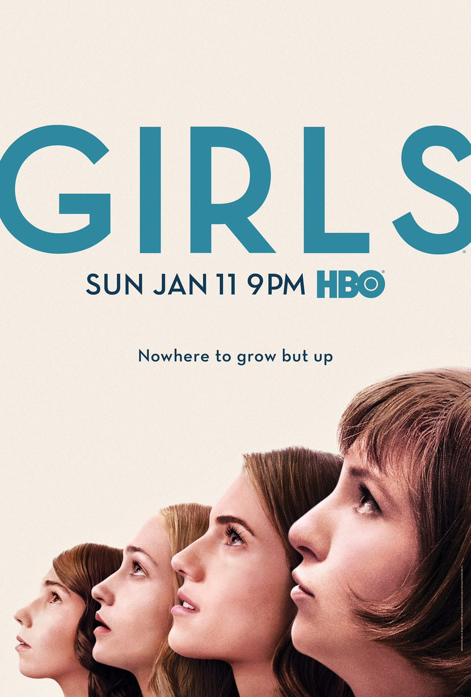 Cartel Temporada 4 de 'Girls'