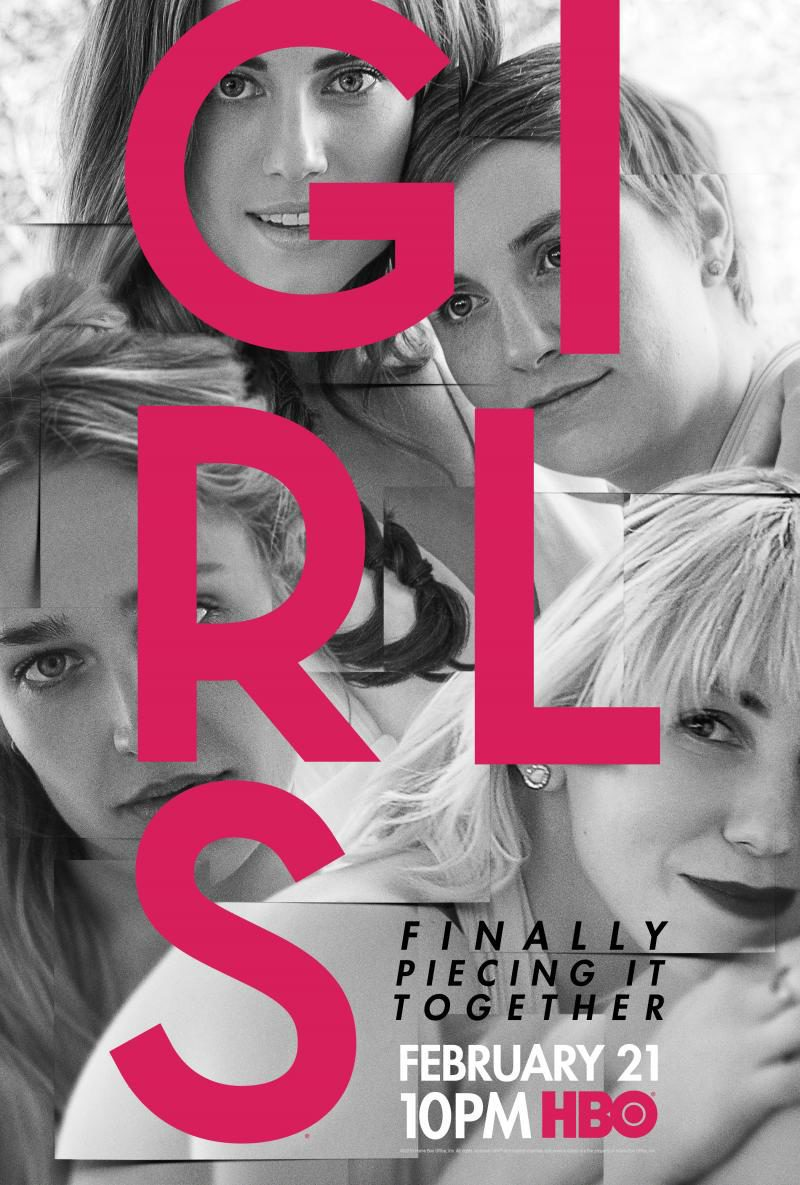 Cartel Temporada 5 de 'Girls'