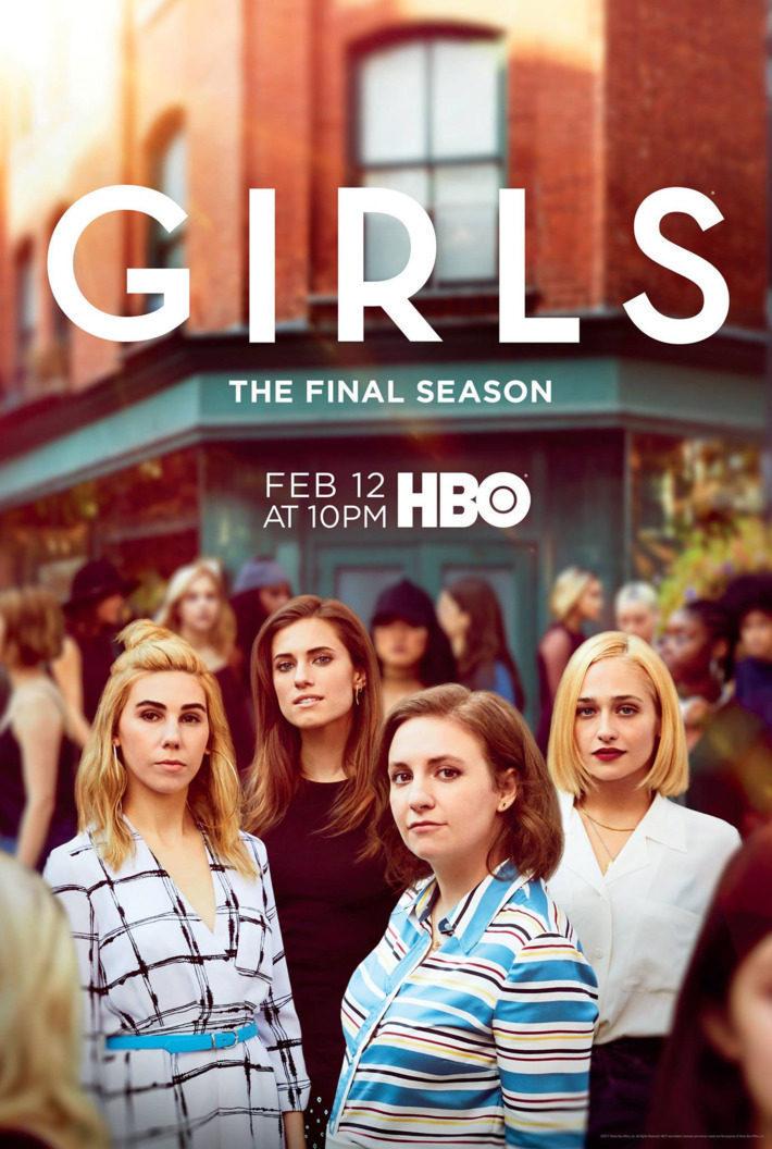Cartel Temporada 6 de 'Girls'