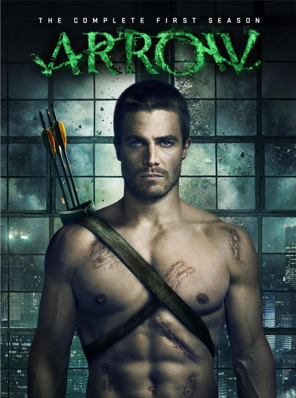 Cartel Temporada 1 de 'Arrow'