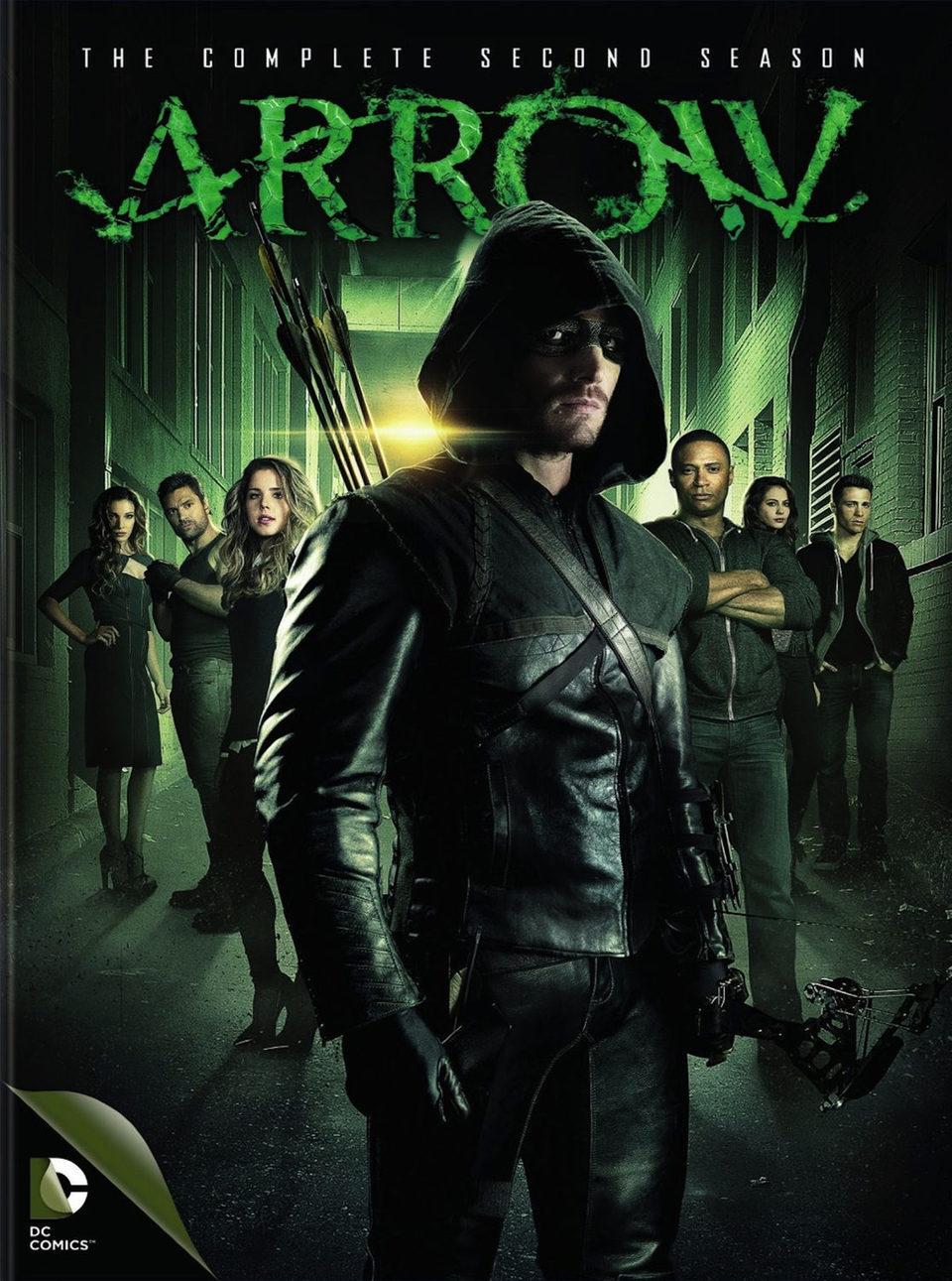 Cartel Temporada 2 de 'Arrow'