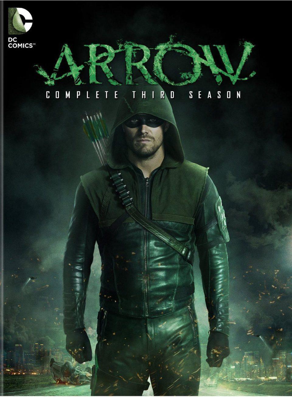 Cartel Temporada 3 de 'Arrow'