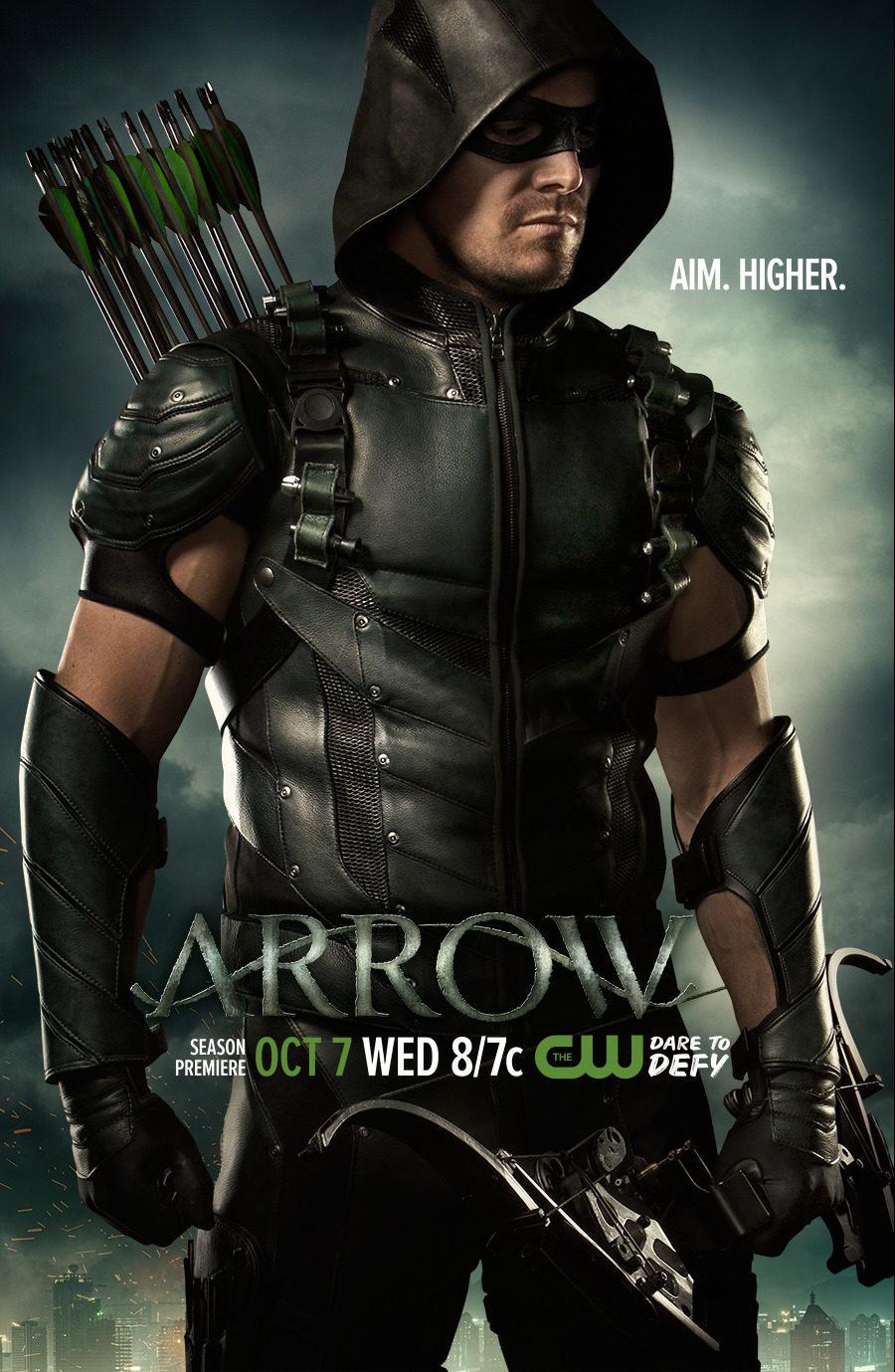 Cartel Temporada 4 de 'Arrow'
