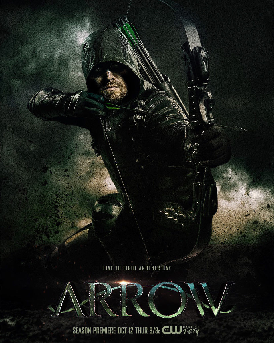 Cartel Temporada 6 de 'Arrow'