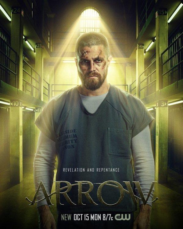 Cartel Temporada 7 de 'Arrow'