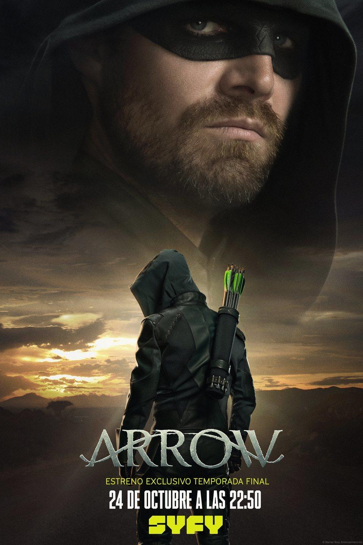 Cartel Temporada 8 de 'Arrow'
