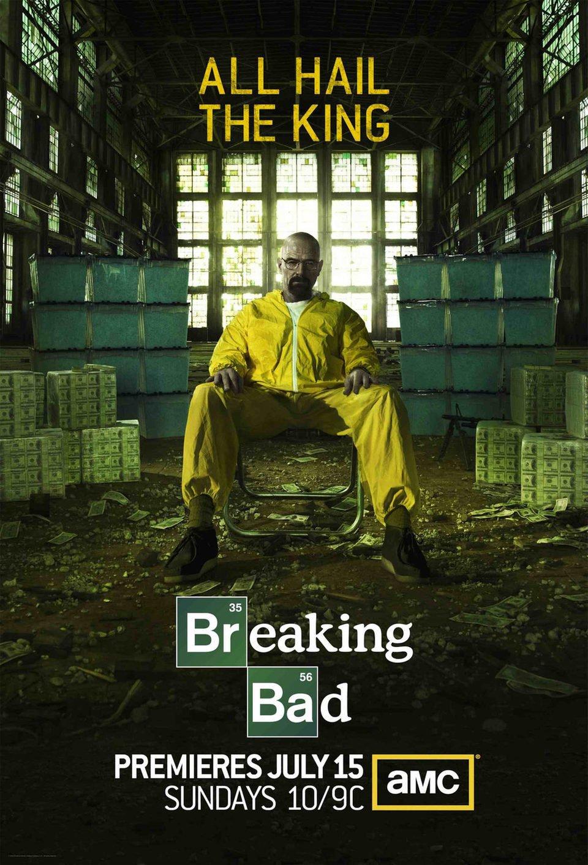 Cartel Temporada 5 de 'Breaking Bad'