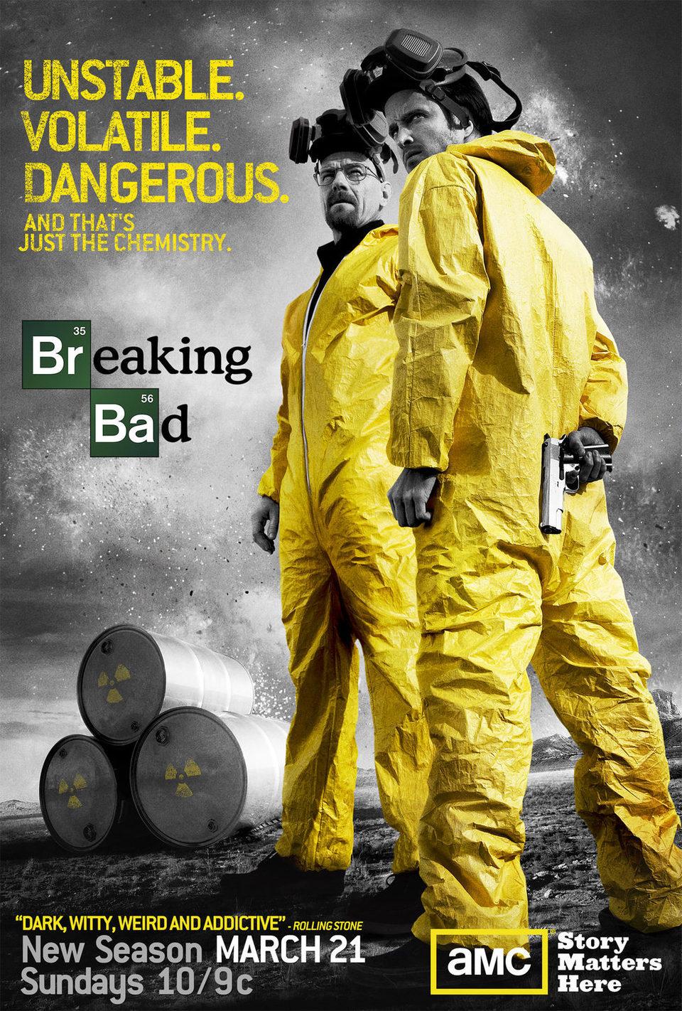 Cartel Temporada 3 de 'Breaking Bad'