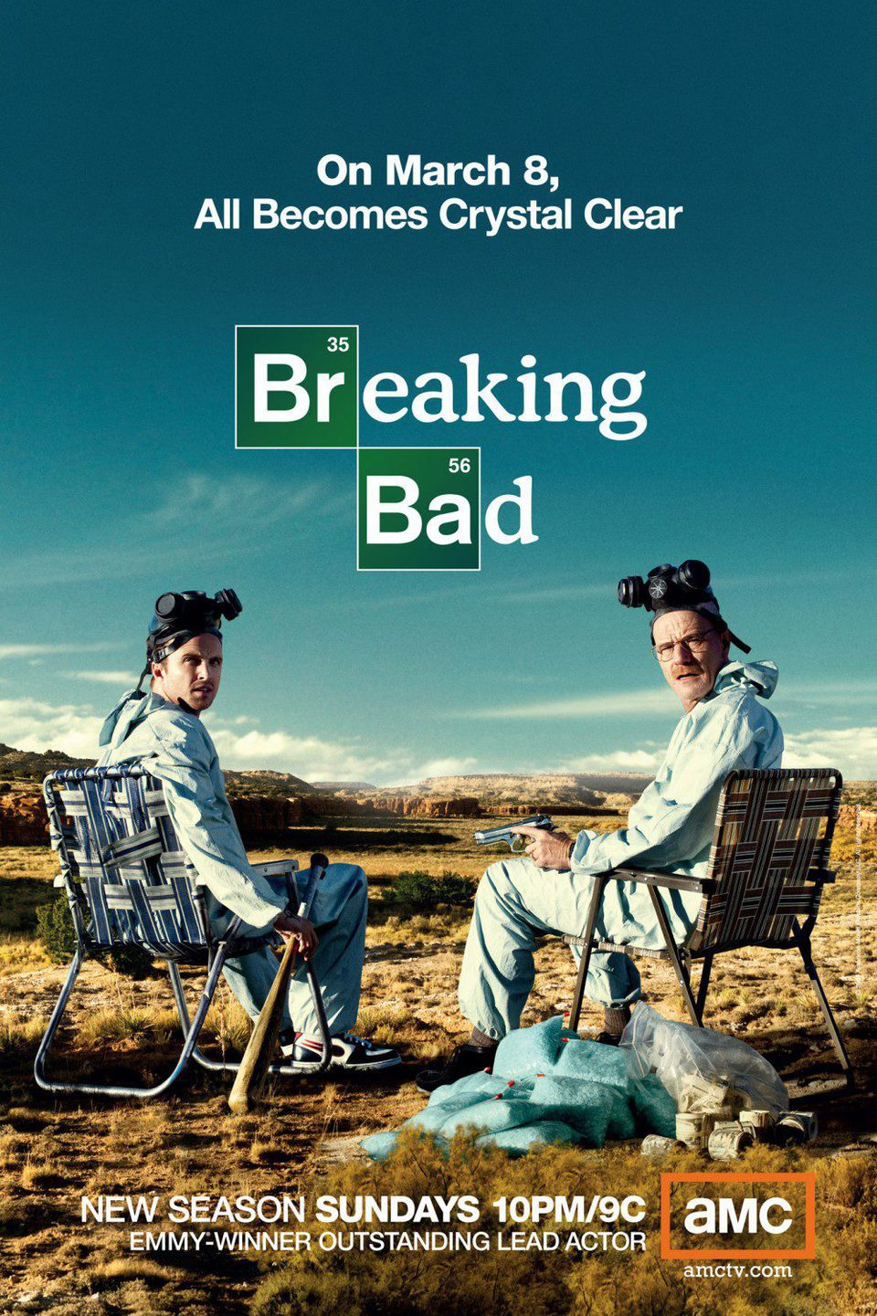Cartel Temporada 2 de 'Breaking Bad'