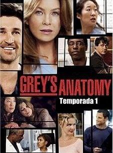 Cartel Temporada 1 de 'Anatomía de Grey'