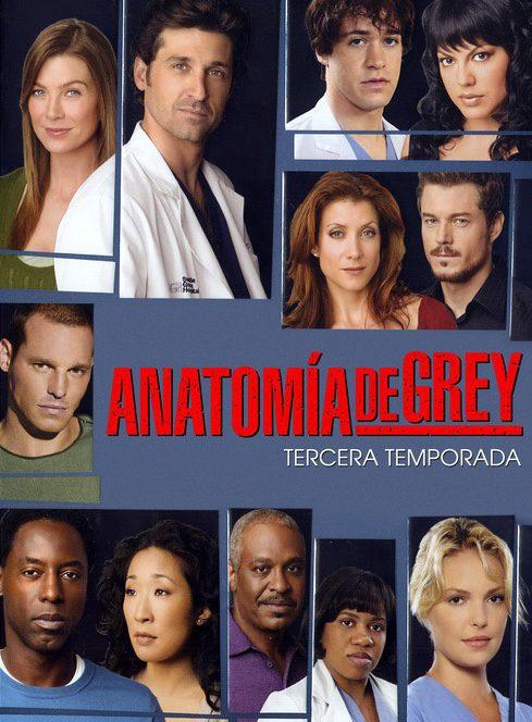 Cartel Temporada 3 de 'Anatomía de Grey'