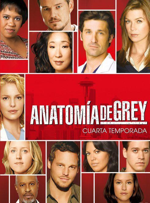 Cartel Temporada 4 de 'Anatomía de Grey'