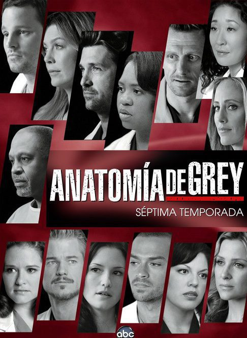 Cartel Temporada 7 de 'Anatomía de Grey'