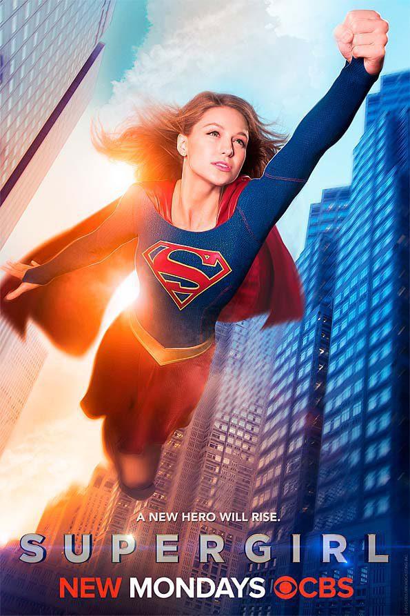 Cartel Temporada 1 de 'Supergirl'