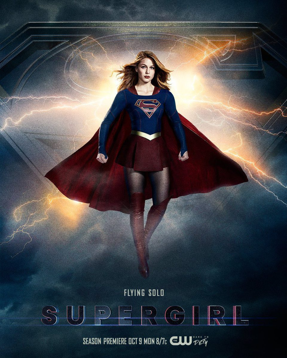 Cartel Temporada 3 de 'Supergirl'