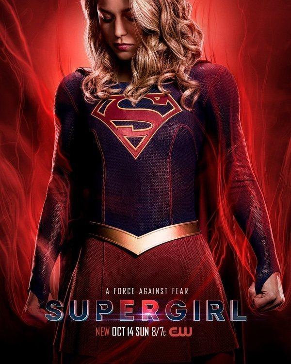 Cartel Temporada 4 de 'Supergirl'