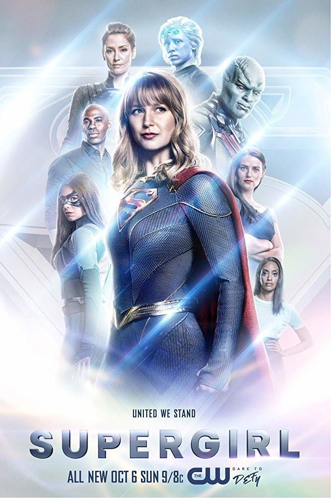 Cartel Temporada 5 de 'Supergirl'