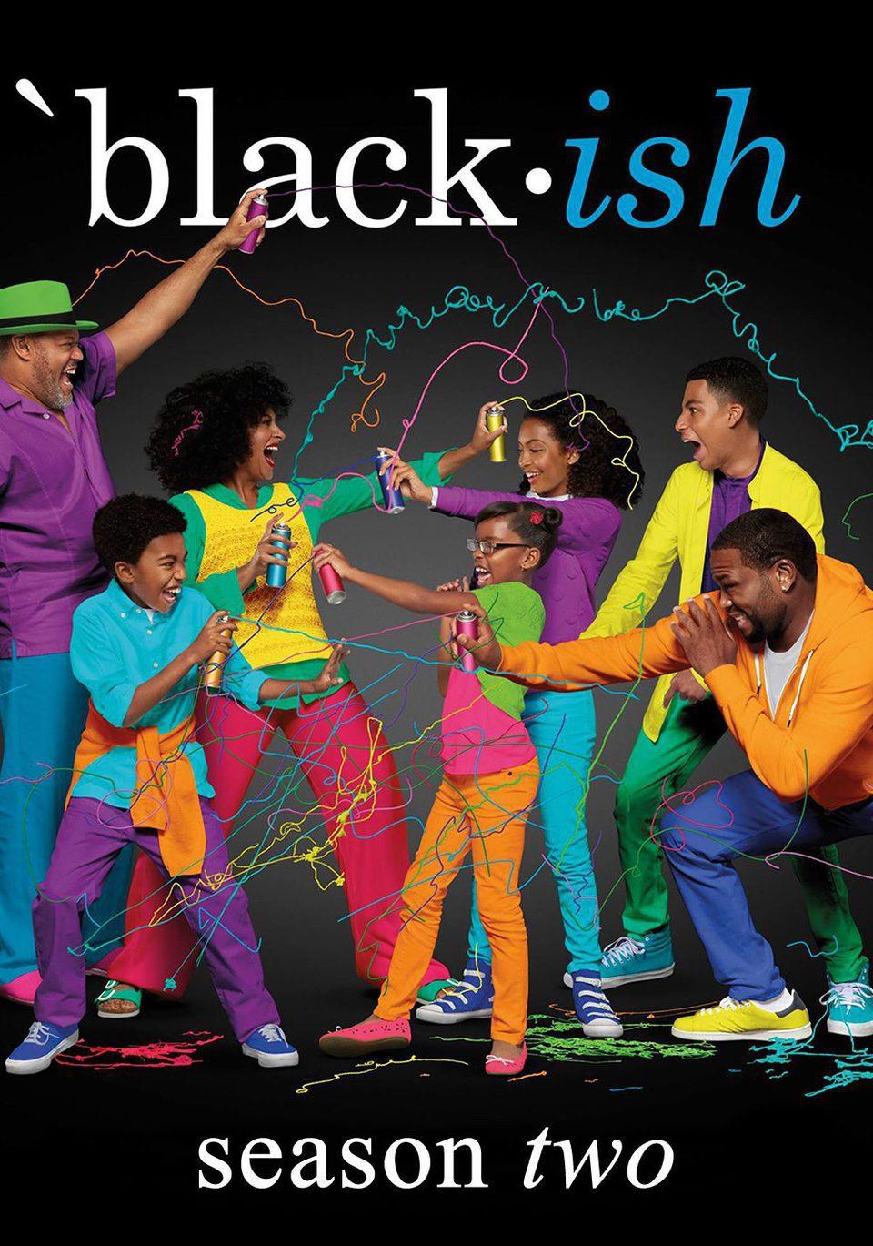Cartel Temporada 2 de 'Black-ish'