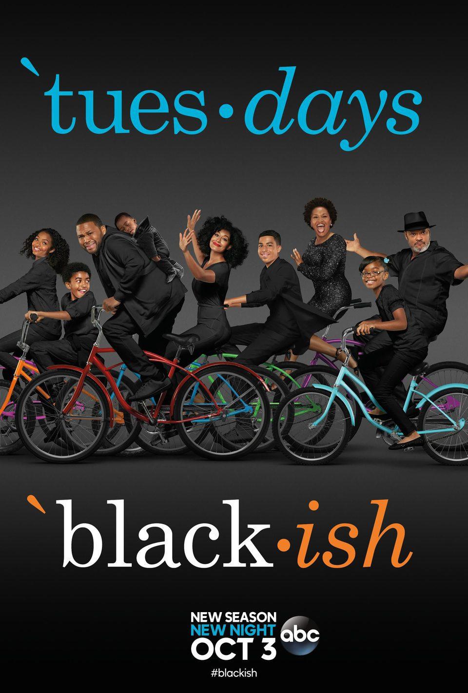 Cartel Temporada 4 de 'Black-ish'
