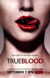 Cartel Primera temporada de 'True Blood'