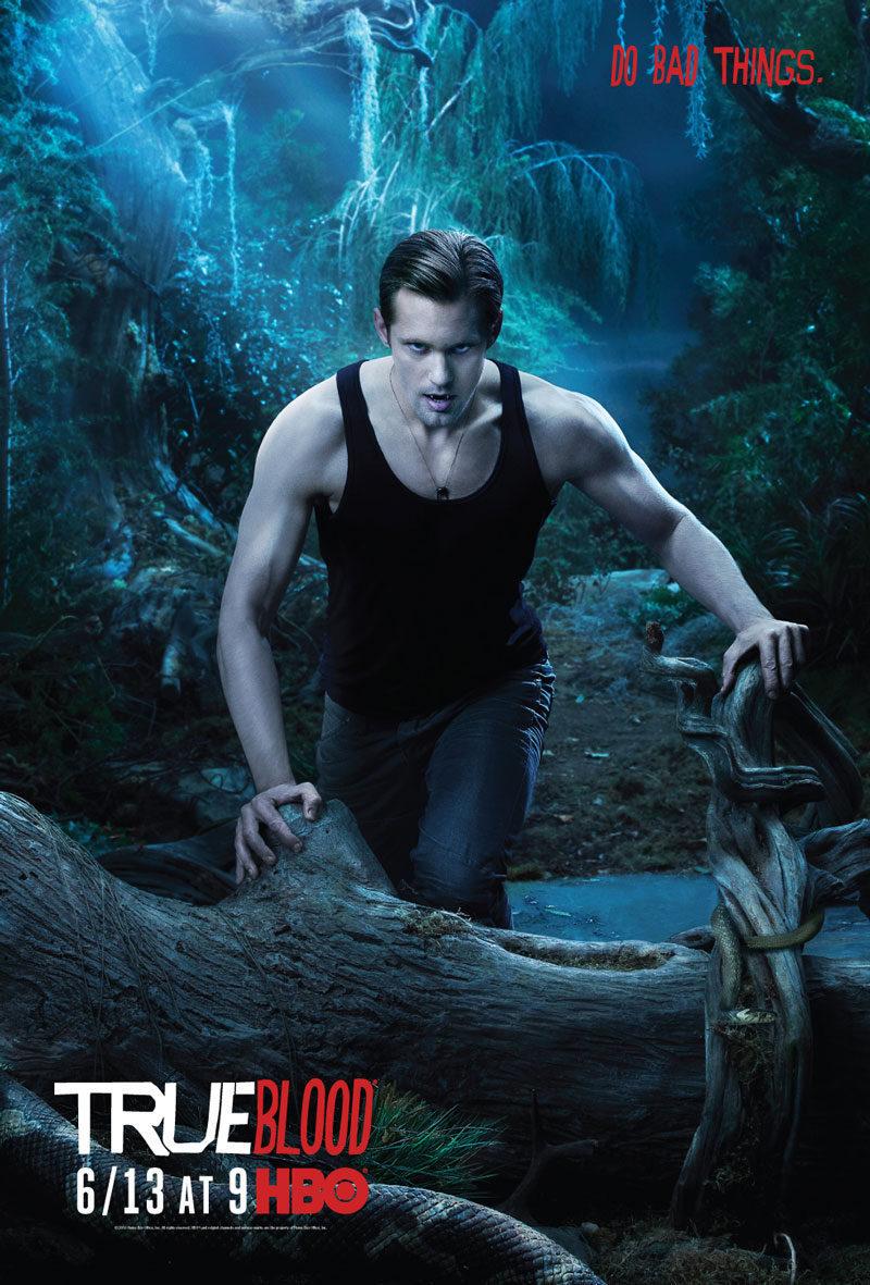 Cartel Tercera temporada de 'True Blood'