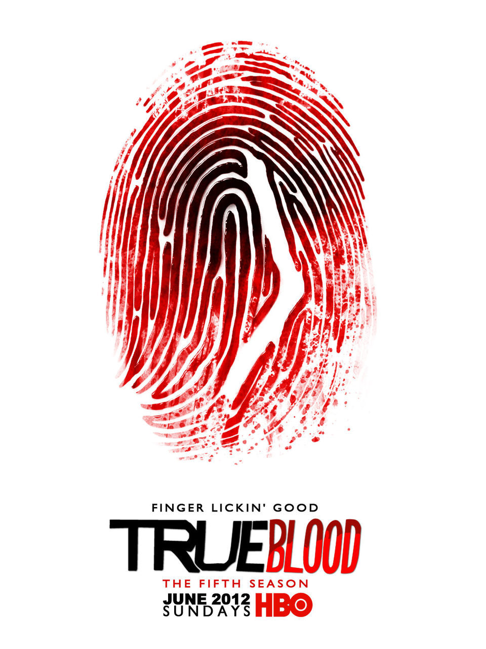 Cartel Quinta temporada de 'True Blood'