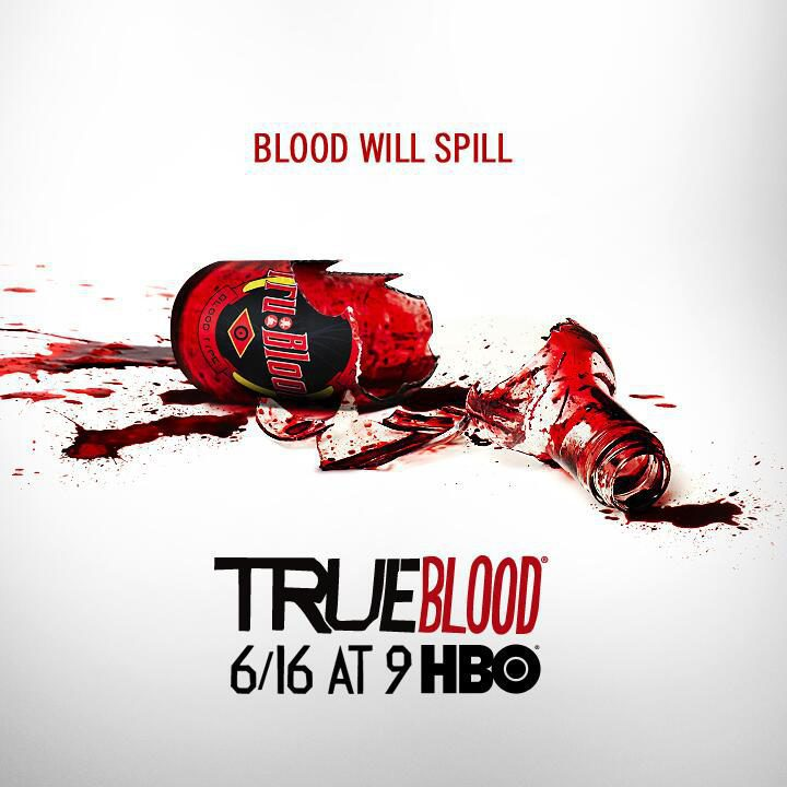 Cartel Sexta temporada de 'True Blood'