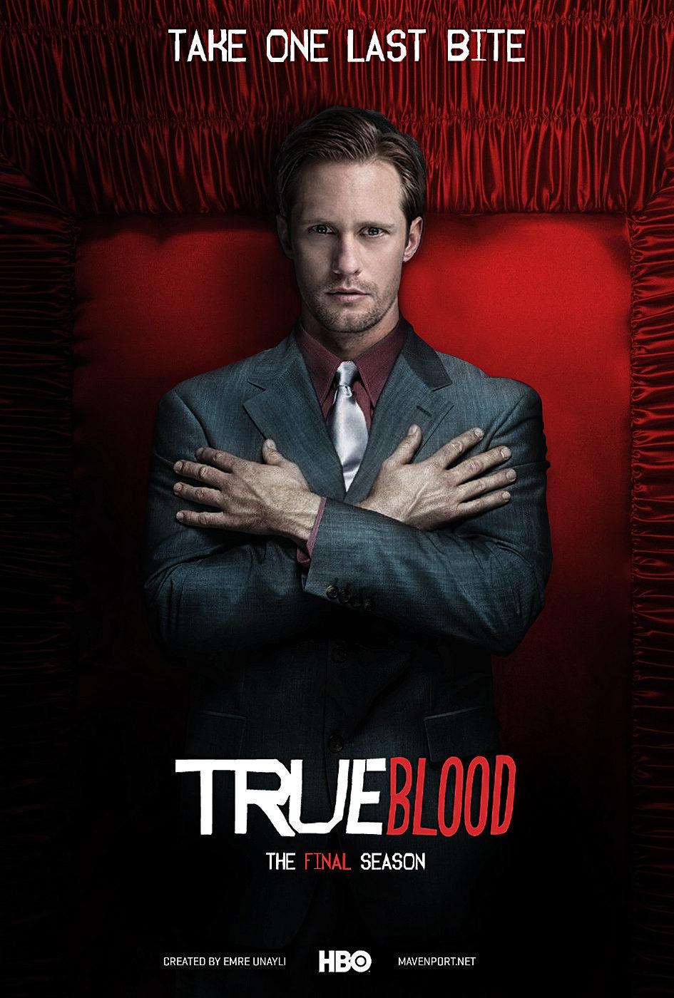 Cartel Séptima temporada de 'True Blood'