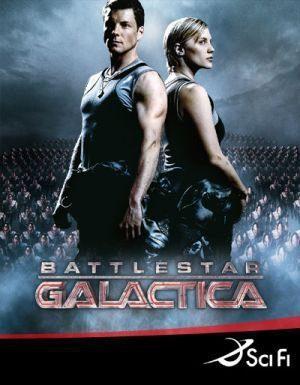 Cartel Temporada 4 de 'Galáctica, estrella de combate'