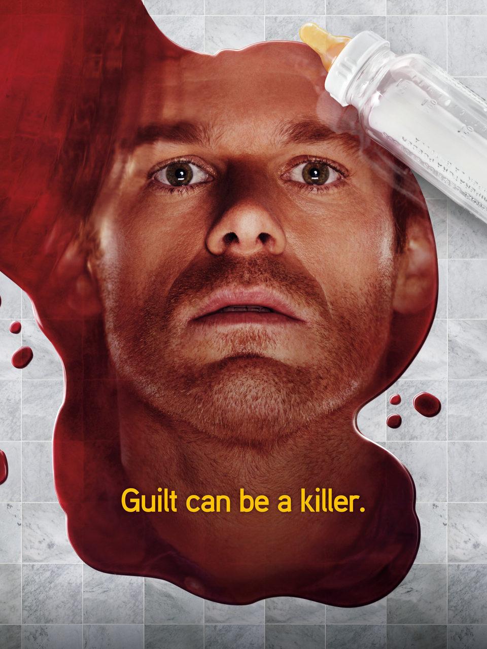 Cartel Temporada 5 de 'Dexter'