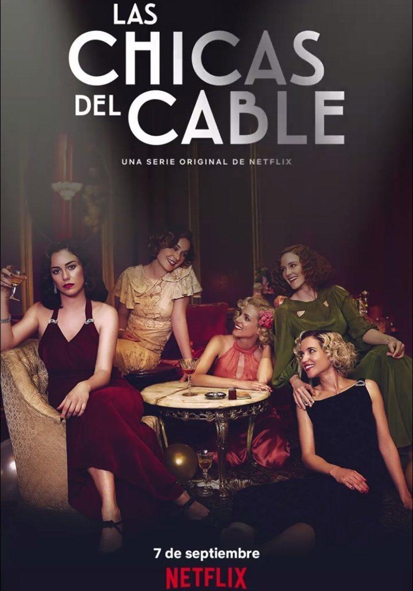 Cartel Temporada 3 de 'Las chicas del cable'