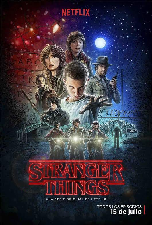 Cartel Temporada 1 de 'Stranger Things'