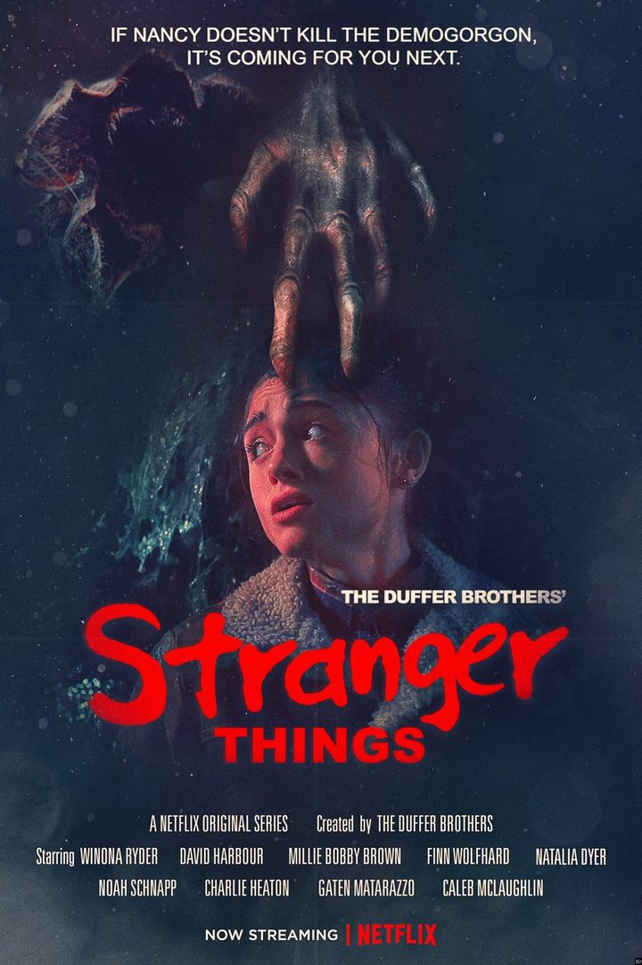 Cartel Temporada 2 teaser #2 de 'Stranger Things'