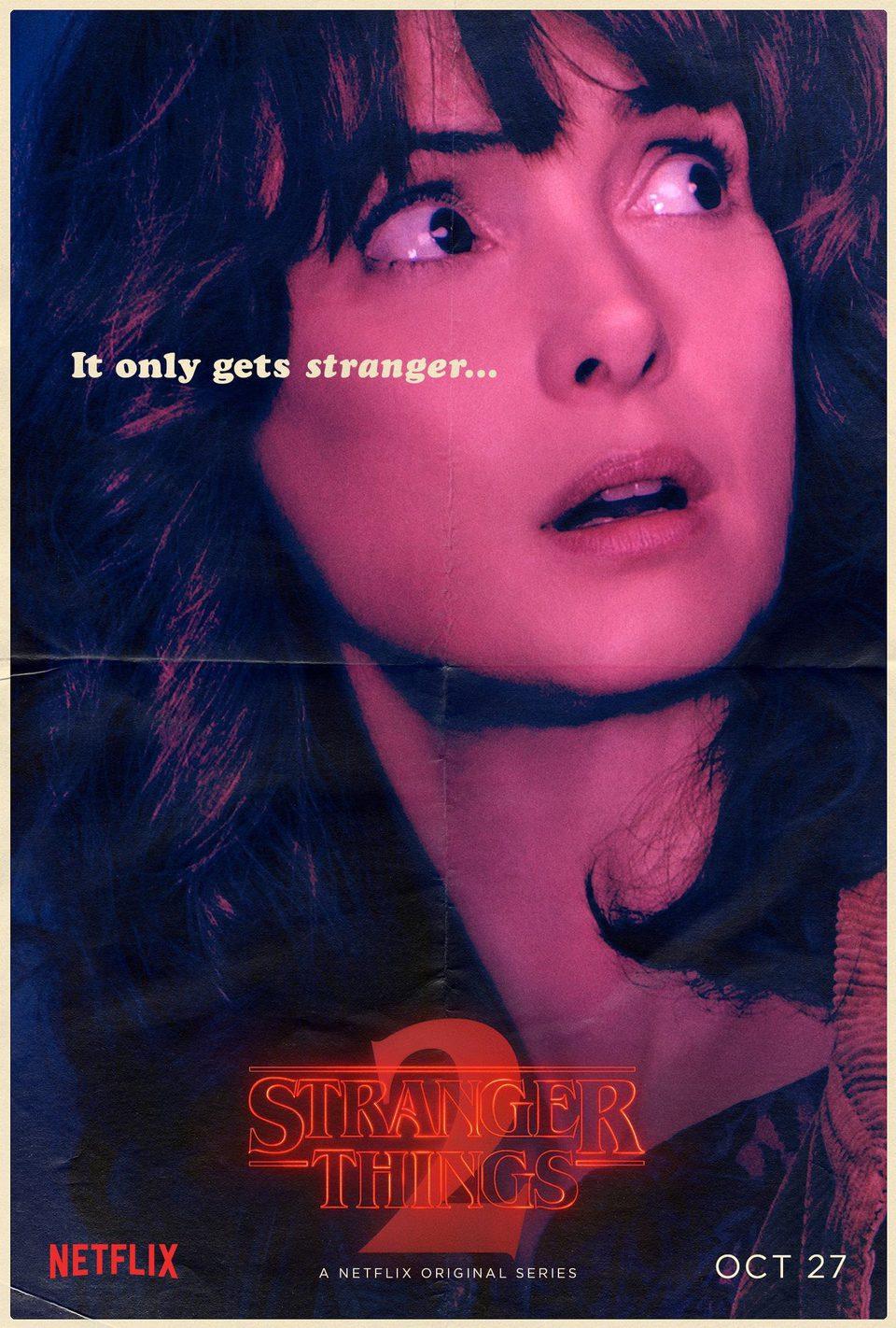 Cartel Joyce Byers - Temporada 2 de 'Stranger Things'