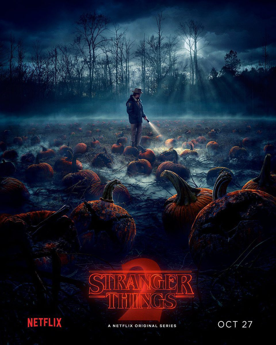 Cartel Temporada 2 teaser #3 de 'Stranger Things'
