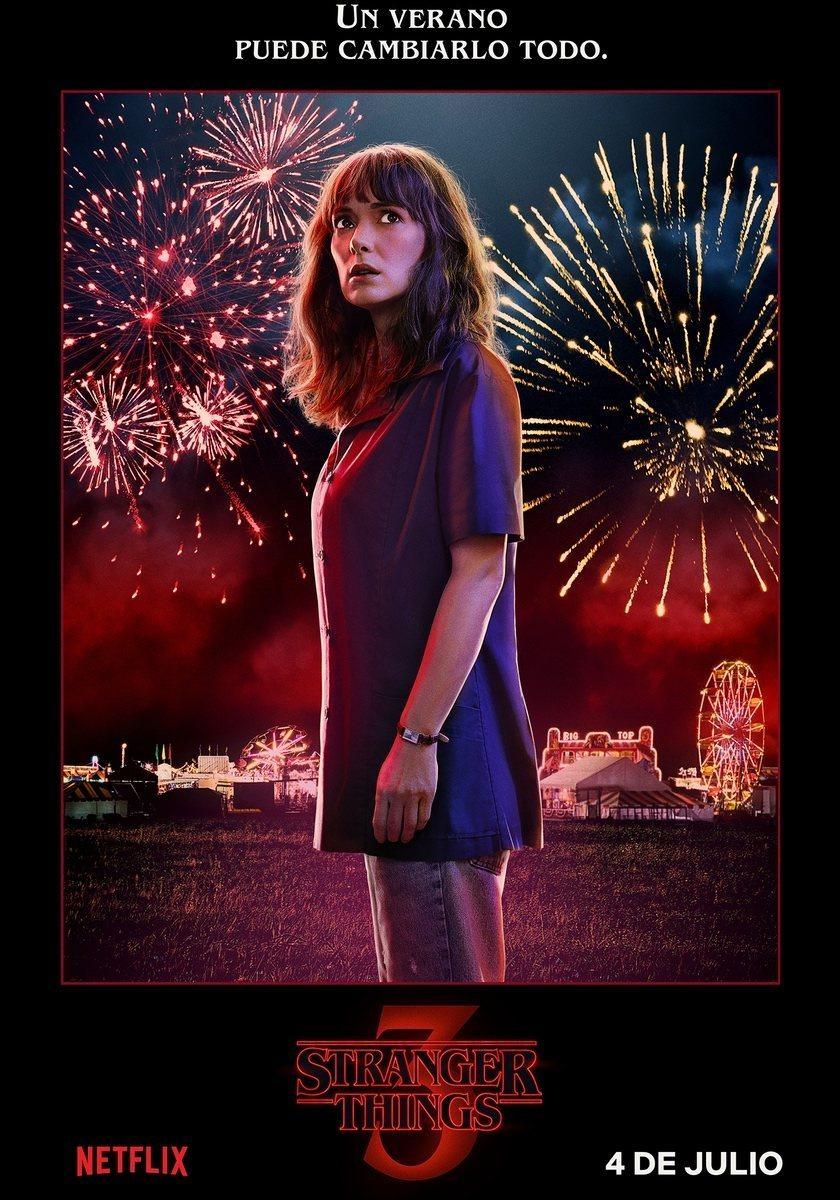 Cartel Joyce - Temporada 3 de 'Stranger Things'