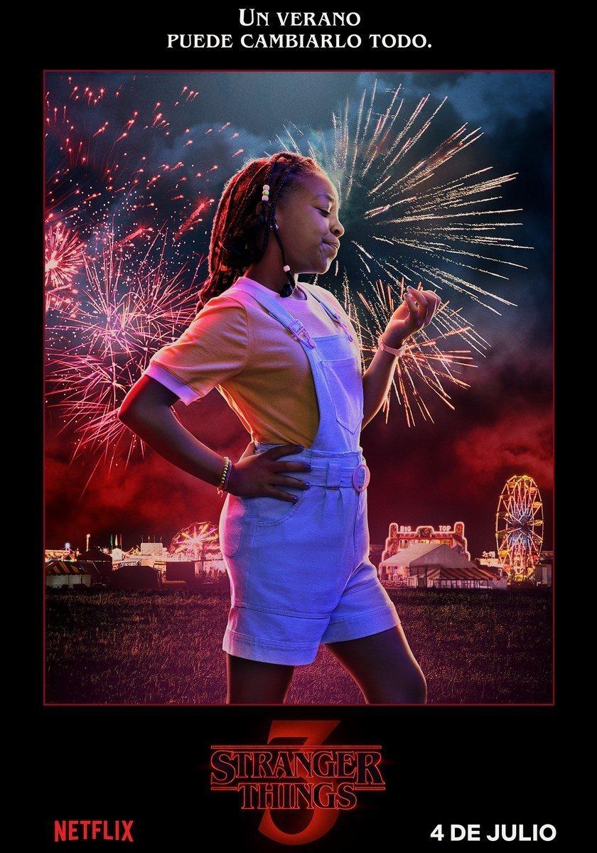 Cartel Erica - Temporada 3 de 'Stranger Things'